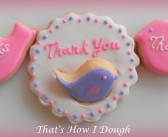 Bird Cut-Outs – Thank You Cookies