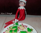 Elf on the Shelf Mini Cookies- and Acts of Kindness List